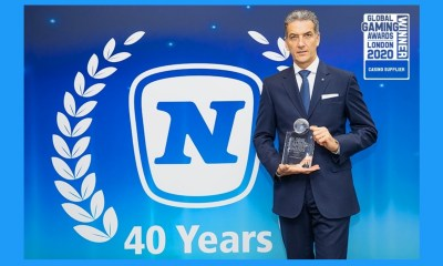 """NOVOMATIC scores hat trick as """"Casino Supplier of the Year"""""""