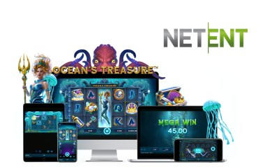 NetEnt awakens the Kraken in Ocean's Treasure™