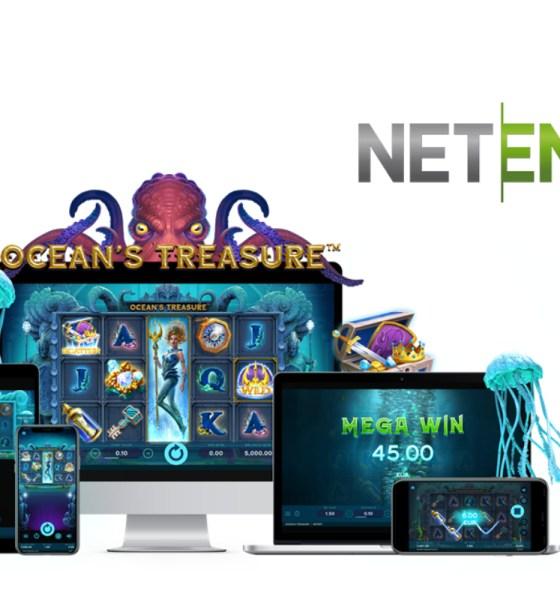 NetEnt awakens the Kraken in Ocean's Treasure™