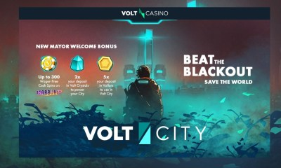Volt City is Live and Ready to Play at Volt Casino