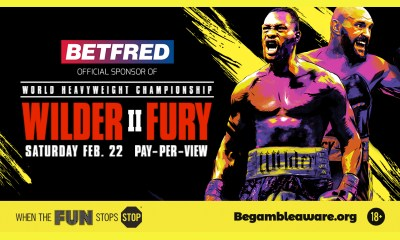 Betfred Official Sponsor Of Wilder vs Fury II