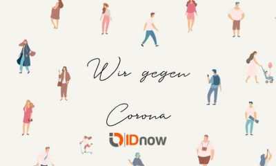 "IDnow supports German-wide organisation ""Wir gegen Corona"" (We against Corona) with free identification of volunteers"