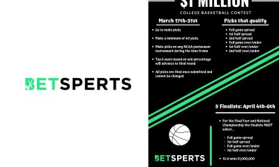 BETSPERTS to Give Five College Hoops Fans a Chance at a Million Dollars