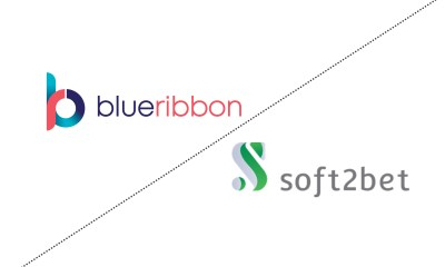 Excitement mounts as BlueRibbon Software teams up with Soft2Bet to offer a bespoke playing experience