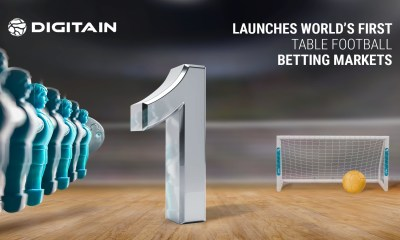 Digitain launches world's first table football betting markets