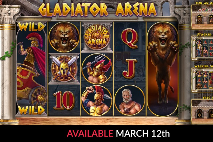Booming Games - Gladiator Arena