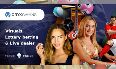 ORYX Gaming offers exciting portfolio of virtuals, lottery betting and gaming content