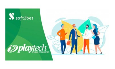 Soft2Bet expands gaming portfolio with industry leader Playtech
