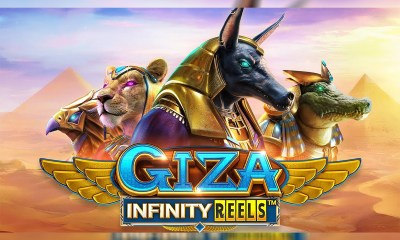 "ReelPlay - ""Giza Infinity Reels"" Slot Game"