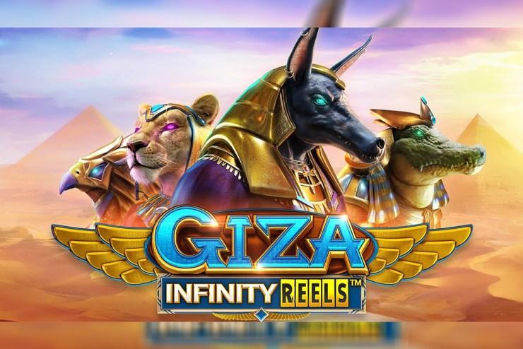 "ReelPlay - ""Giza Infinity Reels"" Slot Game"