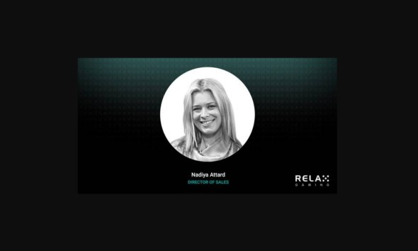 Relax Gaming Announces Appointment of Nadiya Attard as Director of Sales