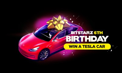 Win A Brand New Tesla Model 3 with BitStarz Big Birthday Giveaway!