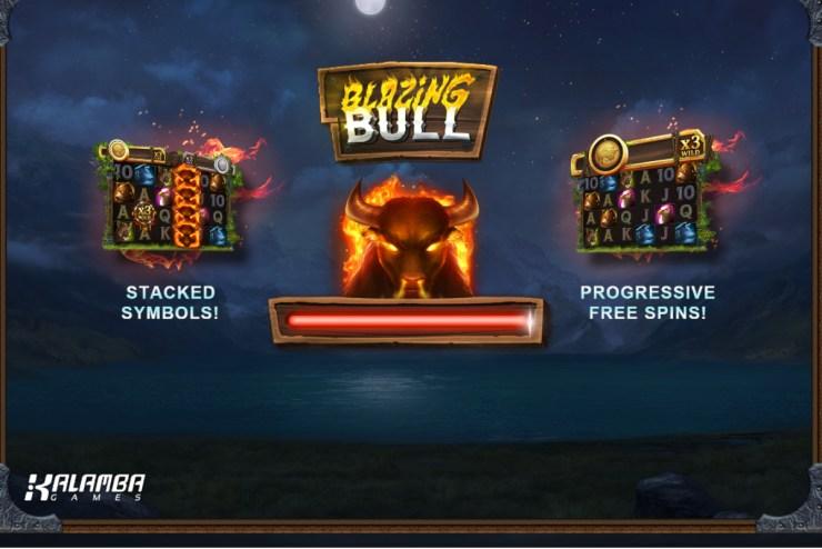 Kalamba Games in Blazing Bull