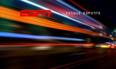 ESPN delivers live coverage of Torque Esports' online racing