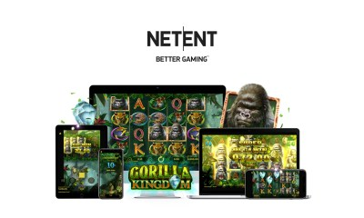 NetEnt's latest slot Gorilla Kingdom™