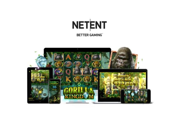 NetEnt's latest slot Gorilla Kingdom™