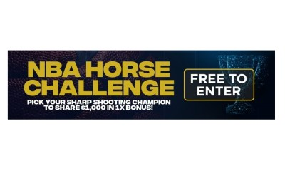 PlaySugarHouse.com and BetRivers.com Announce April Madness With Free-To-Play Bracket For NBA's Horse Challenge