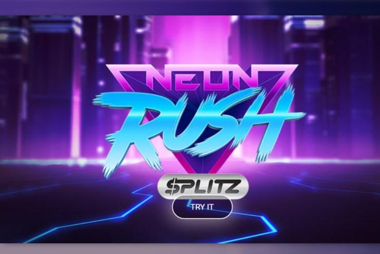 Yggdrasils new blazing SplitzTM game – Neon Rush