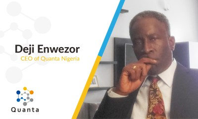 Deji Enwezor Appointed as CEO of Quanta Nigeria