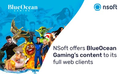 NSoft offers BlueOcean Gaming's content to its full web clients