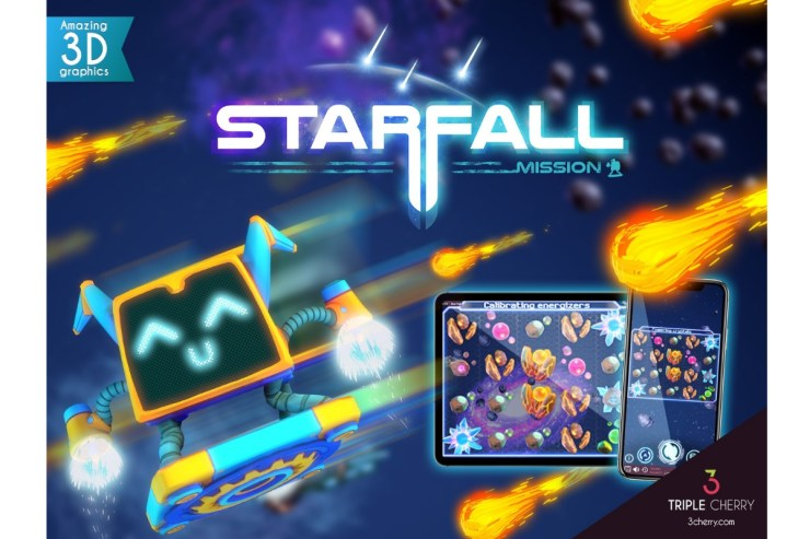 Starfall Mission - Triple Cherry
