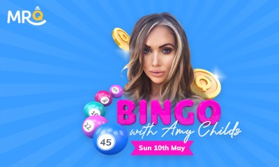 MrQ hosting a weekend of influencer bingo featuring reality TV stars Amy Childs and Cara De La Hoyde