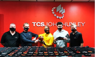 TCSJOHNHUXLEY Works With HOT 91.9FM to Donate KRE8 Masks to Hot Cares Causes
