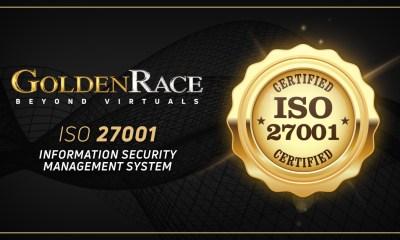 Golden Race Receives ISO 27001:2013 Certification