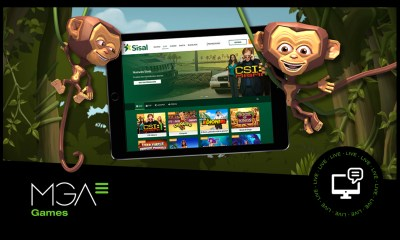 Sisal opt for MGA Games to increase its presence in the Spanish market