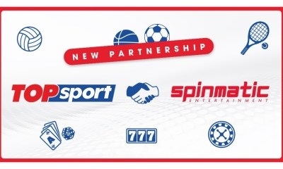 Spinmatic Partners with Topsport