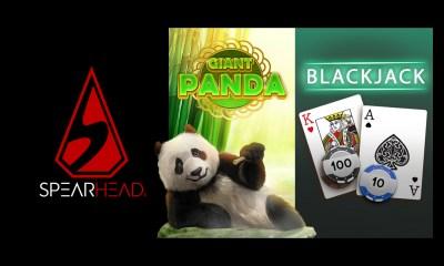 Spearhead Studios releases Blackjack and Giant Panda slot