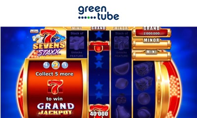 GREENTUBE'S LATEST SLOT RELEASE - 1,024 ways to win in Sevens Staxx™!