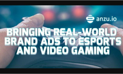 World Leading In-Game Advertising Platform Anzu.io and Indie Sports Video Game Developer Unfinished Pixel Seal New Exclusive Partnership