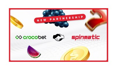 Spinmatic Partners with Crocobet.com