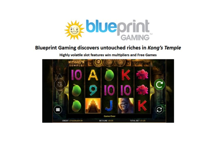 Blueprint Gaming discovers untouched riches in Kong's Temple