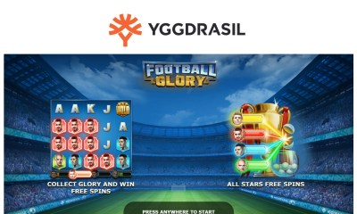 Yggdrasil hits the back of the net with Football Glory