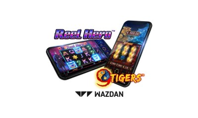 Wazdan's recent games Reel Hero™ and 9 Tigers™ now available in regulated markets