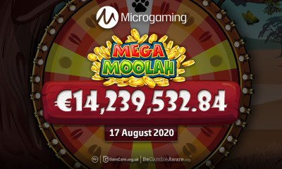 Biggest jackpot win ever at a Swedish online casino luckycasino.com – € 14,239,532.84