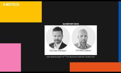 Raketech interim report Q2 2020