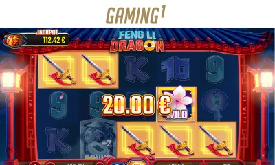 GAMING1 sets the reels alight with Feng Li Dragon