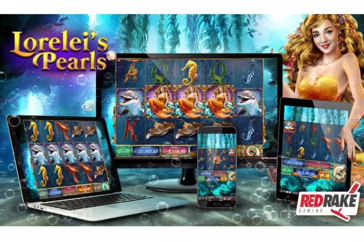 Terpesona oleh lagu-lagu putri duyung dan benamkan diri Anda di perairan Lorelei's Pearls, slot video baru dari Red Rake Gaming