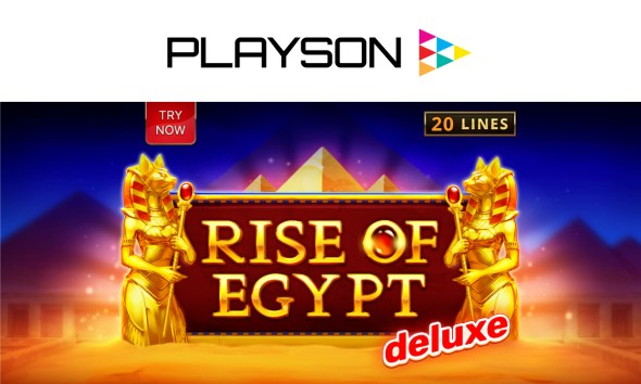 Playson evokes the Land of the Pharaohs with Rise of Egypt Deluxe