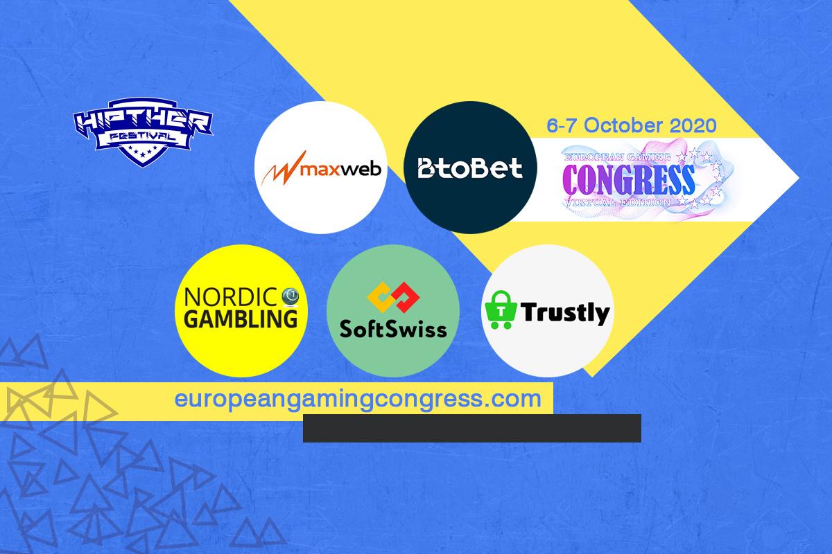 SoftSwiss, Trustly, BtoBet, Nordic Gambling and MaxWeb among the sponsors at European Gaming Congress VE 2020 (#EGC2020VE)