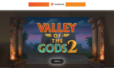 Yggdrasil releases action packed sequel Valley of the Gods 2