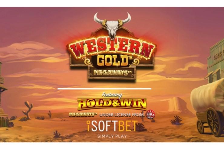 iSoftBet berkendara ke kota dengan Western Gold Megaways ™