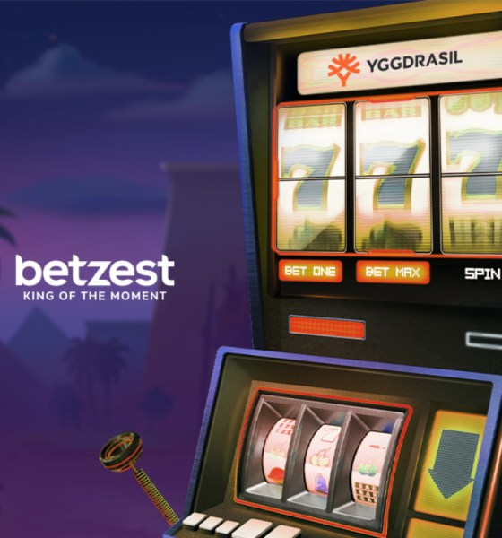 Online Casino and Sportsbook BETZEST™ goes live with the leading Casino provider Yggdrasil™