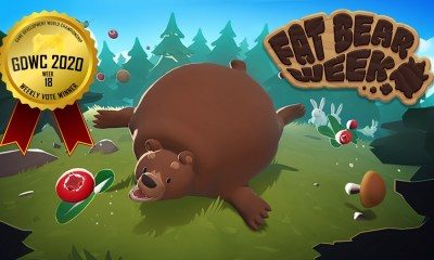 Fat Bear Week Rolls Over the Competition at the Game Development World Championship Weekly Vote!