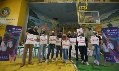 FBM donates 5,000 essential kits to Jeepney drivers