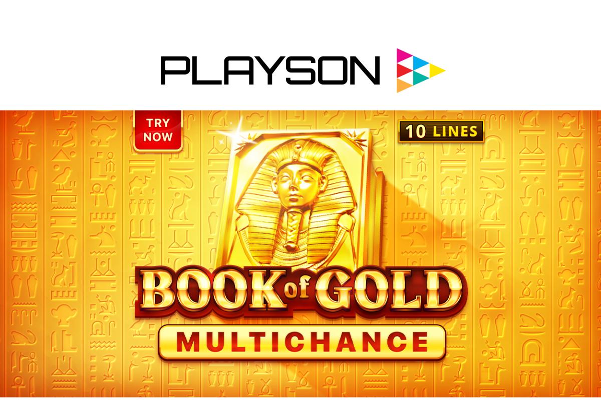 Temukan kekayaan yang tak terhitung dalam Buku Emas Playson: Multichance