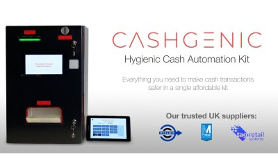 ITL secure new UK partners to supply CashGenic: The hygienic cash automation kit